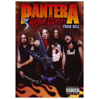 Pantera 3 Vulgar Videos From Hell 2 Disc DVD  Shop Ticketmaster