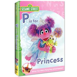 Abby & Friends: P is for Princess DVD  Shop Ticketmaster Merchandise