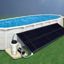 Above Ground Swimming Pool Solar Heating System Mount