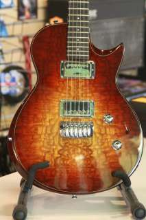Body Electric Guitar with Hard Shell Case   Cherry Sunburst