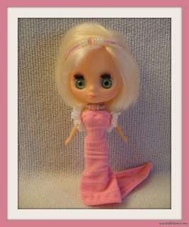 FASHION GOWN 4 MINI PETITE BLYTHE DOLL LITTLEST PET SHOP CUSTOM