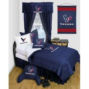 Houston Texans Locker Room Comforter Red Sports