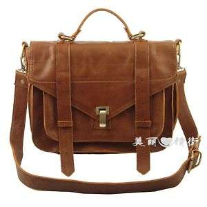 Gossip Girl Blair Real Leather Satchel Shoulder Bag NEW Handbag Tote