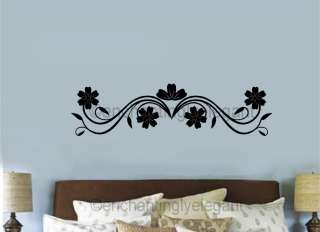 Embellishments Vinyl Decal Sticker Border Living Room Bedroom