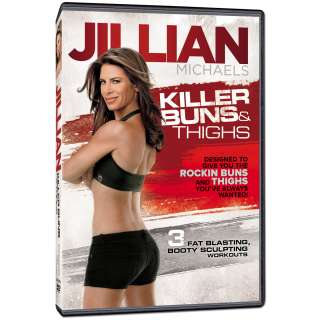 Jillian Michaels Killer Buns and Thighs DVD  Shop the Ticketmaster