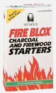 Fireplace Wood Stove FireStarters Seymour Fire Blox 24
