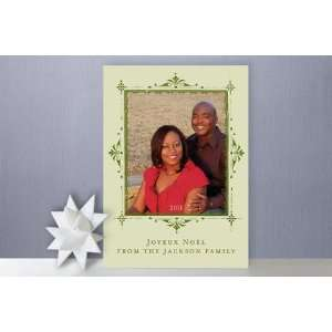Joyeux Noel Christmas Photo Cards by Pixie Stick P