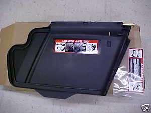 John Deere Mower Deck Discharge Chute 48C 54C 54D 62D