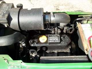 John Deere 330 Diesel Lawn Tractor Mower Deck Turf JD