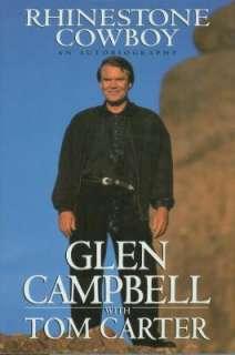 GLEN CAMPBELL   RHINESTONE COWBOY BOOK   AUTOGRAPHED 9780679419990