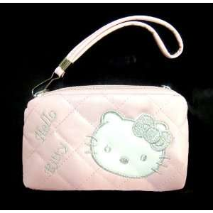 Hello Kitty Pouch PINK / with white face
