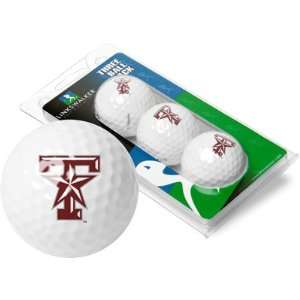 Texas A&M Aggies TAMU NCAA Golf Ball Pack: Sports