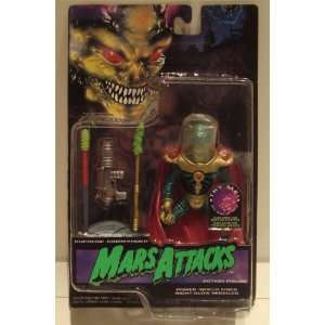 Mars Attacks SUPREME COMMANDER Electronic Talking Action Figure (1996