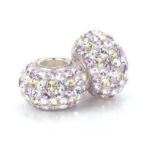 Bella Fascini Lilac Purple Mix Swarovski Crystal Element
