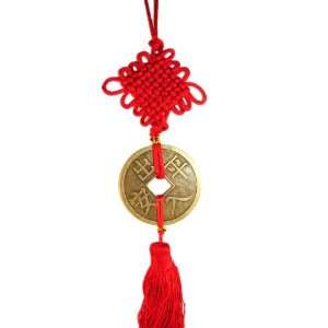 Big Chinese Feng Shui Coin Tassel Attract Wealth Everything Else