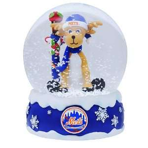 Forever Collectibles New York Mets Holiday Snow Globe