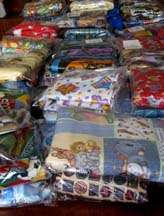 And a wide variety of quality print cotton fabrics.