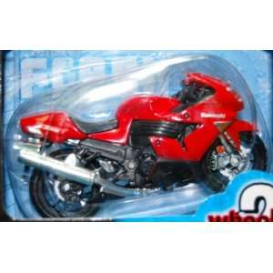 Wheelers 118 Die Cast Red Kawasaki Ninja ZX 14 Everything Else