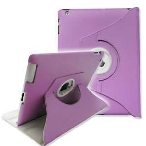 ® 360 Degree Rotating Stand Smart Cover Leather Case for Apple iPad