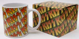 Kiss Official Ceramic Coffee Cup Mug Gift Box New