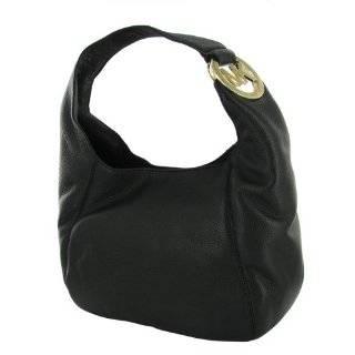 MICHAEL KORS Fulton Medium Leather Hobo Womens Handbag