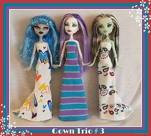 Clothes Clothing Handmade 4 MONSTER HIGH DOLL Custom Fashion NEW