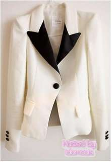 White Gorgeous Boho Fashion Ladies Womens New Stylish Blazer Jacket