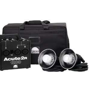 Profoto 910795 Acute2R 1200 Value Pack with Case (Black