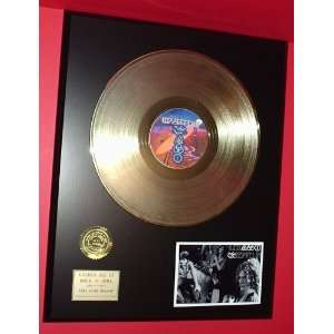 Grateful Dead 24kt LP Gold Record LTD Edition Display ***FREE PRIORITY