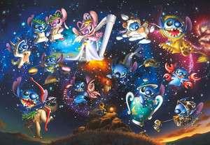 Japan Jigsaw Puzzle Tenyo Disney Lilo Stitch 2000 539