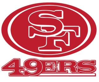 San Francisco 49ers Logo Vinyl Decal Sticker