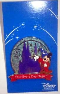 Disney Pin Mickey Disney Rewards Visa Cardmember 2011