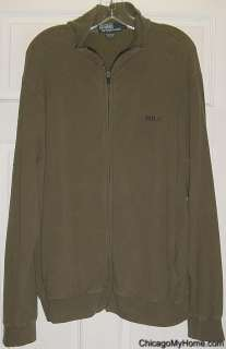 Polo Ralph Lauren Mens Stretch Zipper Jacket Large L