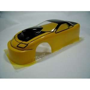 Chevrolet Camaro Drag Clear Body, .015 Thick, 4.5 Inch (Slot Cars