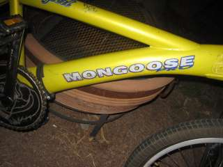 Aniversary Edition Mongoose Pro Expert BMX Bike   VERY ORIGINAL