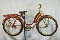 Vintage 1939 Road Master Ladies Supreme balloon tire bicycle bike red