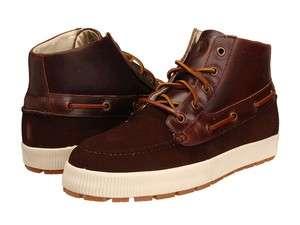 Polo Ralph Lauren Delmont Mens Shoes DARK BROWN NEW Boots High top