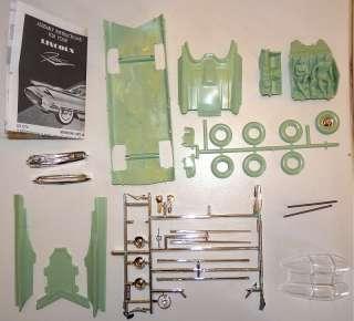 1955 LINCOLN FUTURA REVELL AUTHENTIC Model Kit OPEN (pre Batmobile