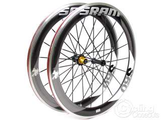 SRAM S60 700C CARBON ROAD BIKE WHEELS WHEELSET SHIMANO GREY