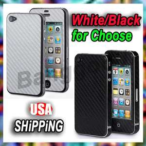 4G Carbon Fiber Skin Adhesive Sticker FULL BODY Cover Protector