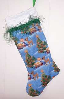 RUDOLPH REINDEER & THE MISFIT TOYS CHRISTMAS STOCKING