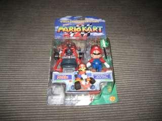 Super Mario Kart 64 Mario Action Figure New In Box NIB