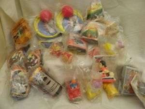 Large Lot Vintage 1990s Burger King Toys   Sealed