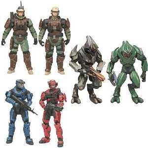 Halo Reach Series 3 Action Figure 2 Pack Case Toys