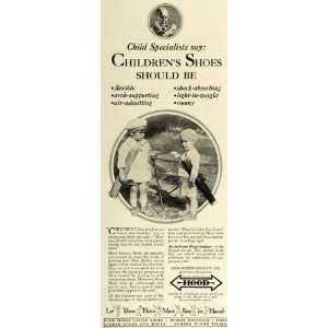 1930 Ad Hood Rubber Company Inc Canvas Children Shoes   Original Print