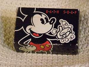 MICKEY MOUSE Bath Soap 1955 VINTAGE Disney Resorts NIB