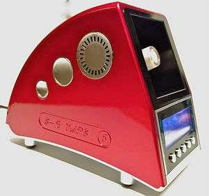 EASY VAPE DIGITAL FIVE 2012 VAPORIZER   Ceramic Heating Element   RED