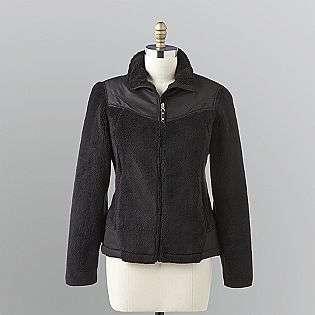 Womens Sherpa Fleece Jacket  Vertical 9 Clothing Womens Outerwear