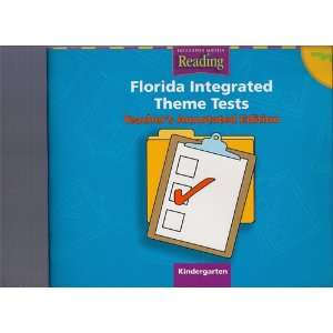 Theme Tests, Kindergarten   Teachers Annotated Edition Books