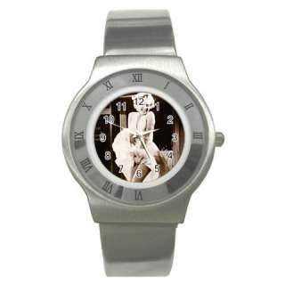 Marilyn Monroe 3 Stainless Steel Wrist Watch Unisex Gi